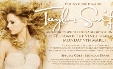 TAYLOR SWIFT GOES UNDER 18 IN MELBOURNE