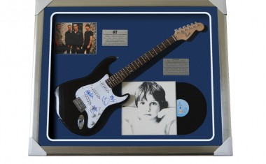 BID FOR BAILEYS - AND A SIGNED U2 GUITAR