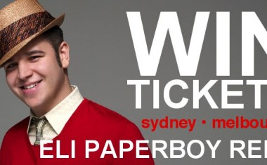 WIN ELI PAPERBOY REED TICKETS