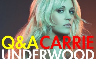 Q&A : Carrie Underwood