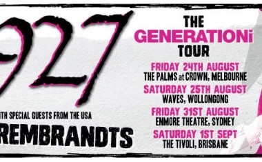 TOURING : 1927/The Rembrants