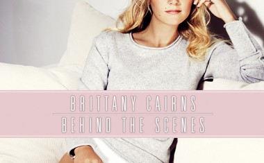 BEHIND THE SCENES WITH BRITTANY