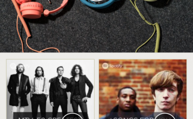 SPOTIFY DEBUTS BROWSE