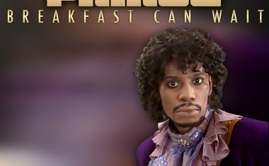 PRINCE SERVES UP BREAKFAST