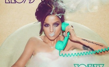 CHER LLOYD BREAKS COVER