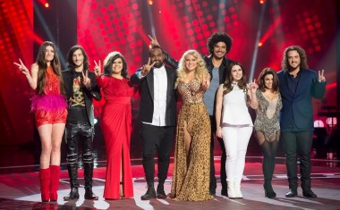 VOICE TOP EIGHT REVEALED