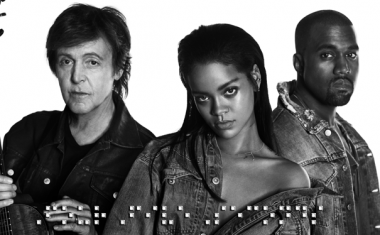 RIHANNA AND KANYE AND PAUL : FourFiveSeconds