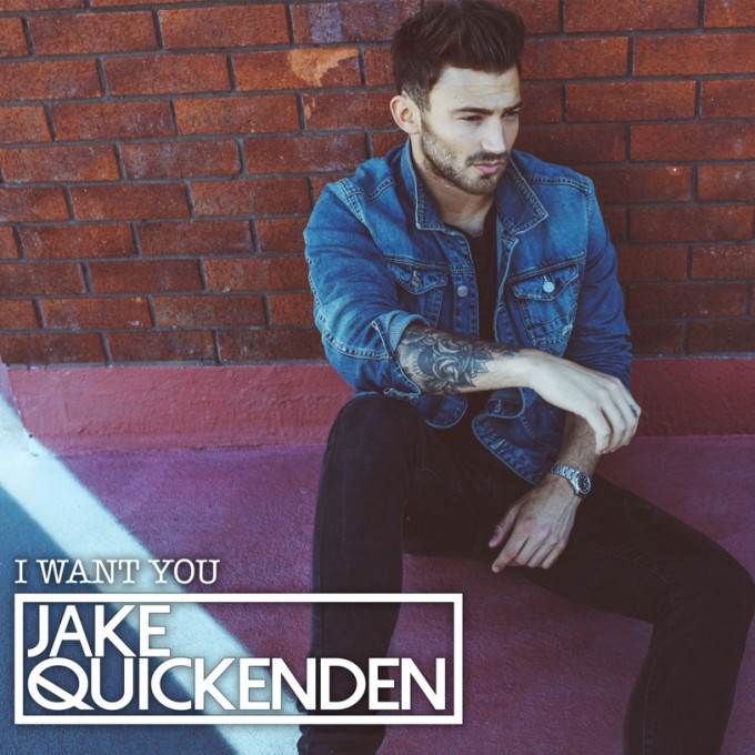 JAKE QUICKENDEN - I WANT YOU EP COVER
