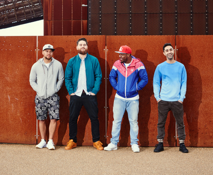 Rudimental - WTG press shot