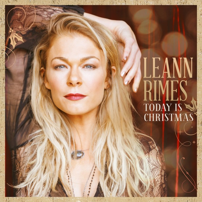 LeAnn Rimes Today Is Christmas cover art