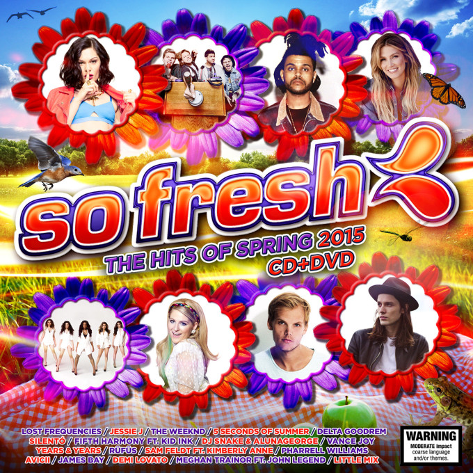 So Fresh Spring 2015 FINAL CD DVD cover