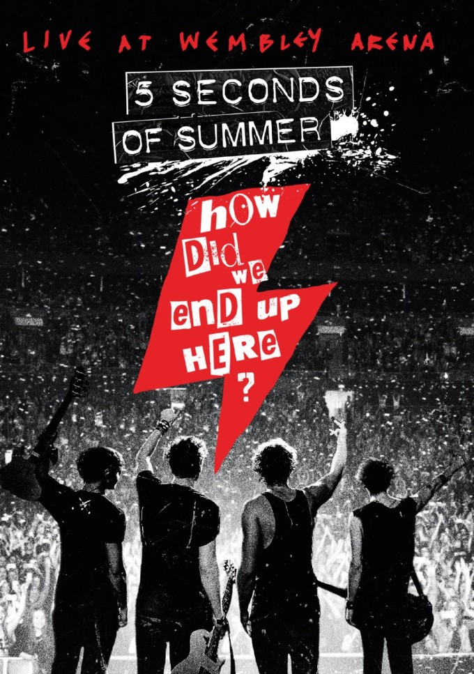 5 Seconds Of Summer How Did We End Up Here DVD