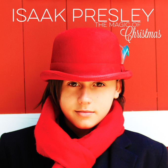 ISAAKPRESLEY-TheMagicOfChristmas-ArtworkFinal