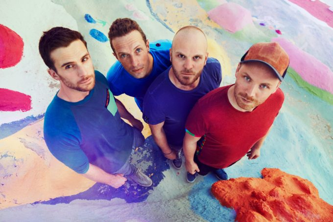 Coldplay May 2016