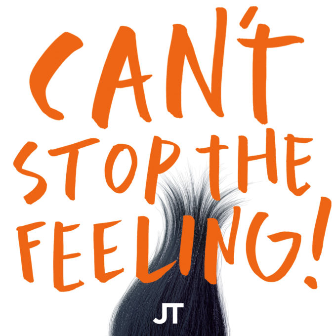 Justin Timberlake CANT STOP THE FEELING single[1][2]