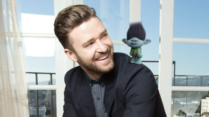 Justin Timberlake Trolls movie
