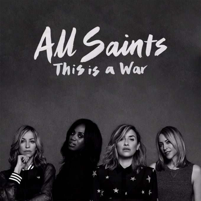 All Saints This Is A War cover
