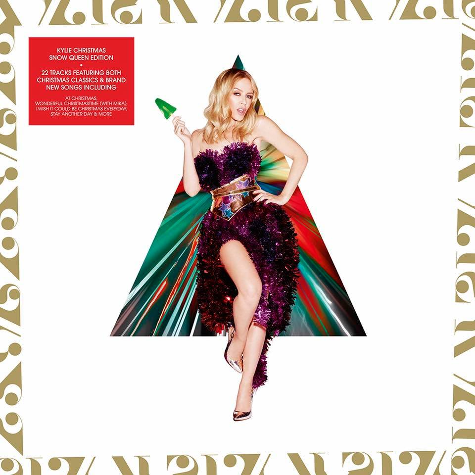 KYLIE GIVES CHRISTMAS SNOW QUEEN EDITION | auspOp