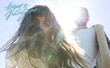 SNOW FALLS FOR ANGUS & JULIA STONE