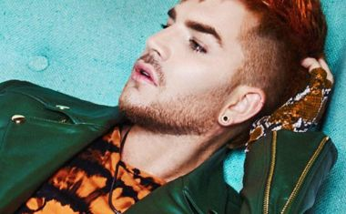 ADAM LAMBERT GIVES TWO FUX