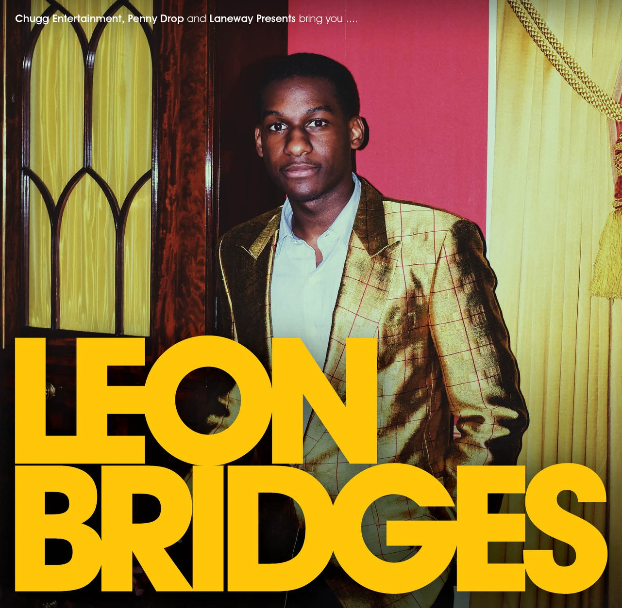 Coming Home Deluxe Leon Bridges: LEON BRIDGES TO PLAY SYDNEY, MELBOURNE