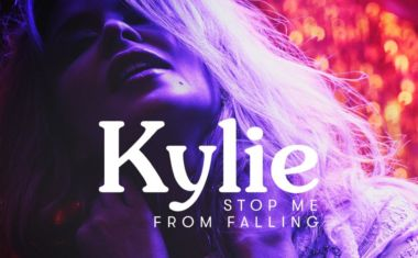 KYLIE REVEALS 'STOP ME FROM FALLING' VIDEO