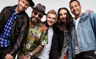 BACKSTREET'S BACK WITH 'DON'T GO BREAKING MY HEART'