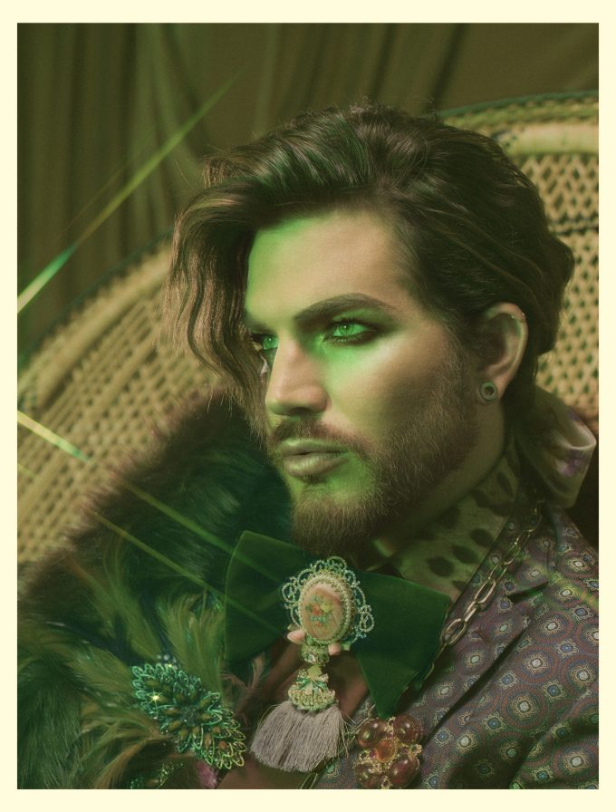 adam lambert australian promotional tour locked